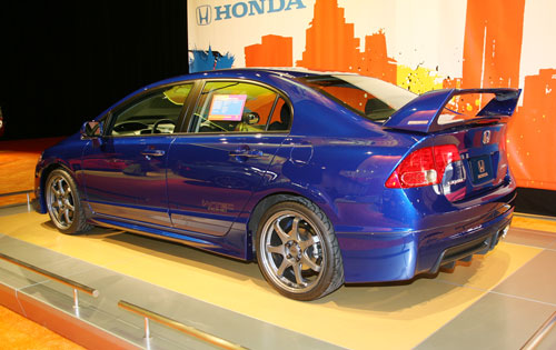 Sedan Vs Coupe >> Honda Civic LX-S sedan « Auto Insight
