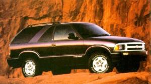 Chevrolet Blazer Pictures